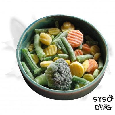 Fagyasztott vegyes zöldség mix